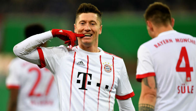 Robert Lewandowski has been linked with Real for some time.