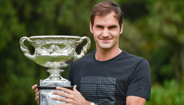 Roger Federer won his 20th Grand Slam title in Melbourne last month.