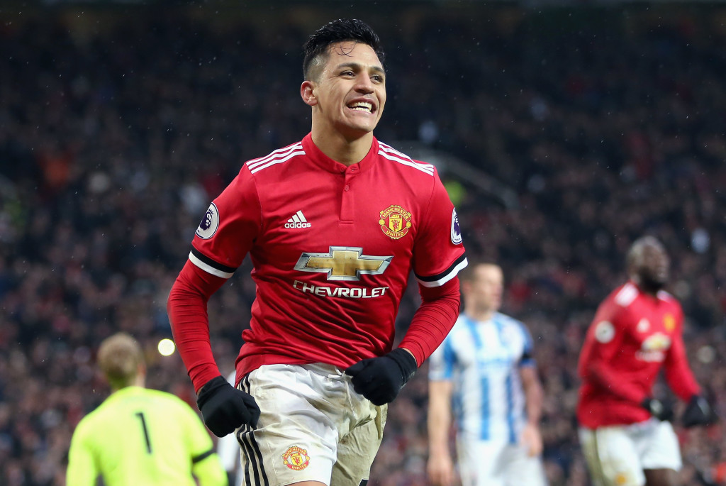Alexis Sanchez has had a big impact on Man Utd