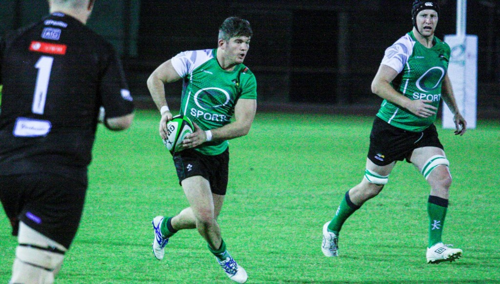 We've come a long way: Dubai Eagles' Sean Carey.