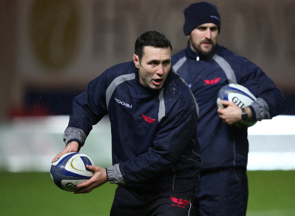 Stephen Jones has made a big difference to the Scarlets' backs.