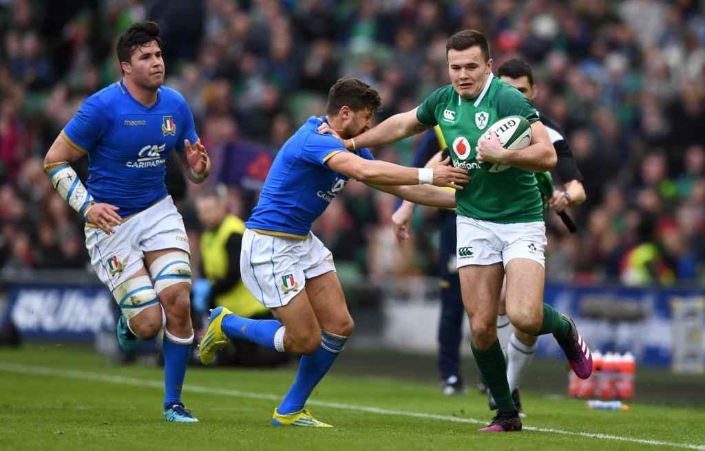 Spoonful of sorrow: Italy lost again against Ireland.
