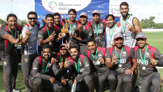 The UAE retained their ODI status until 2022
