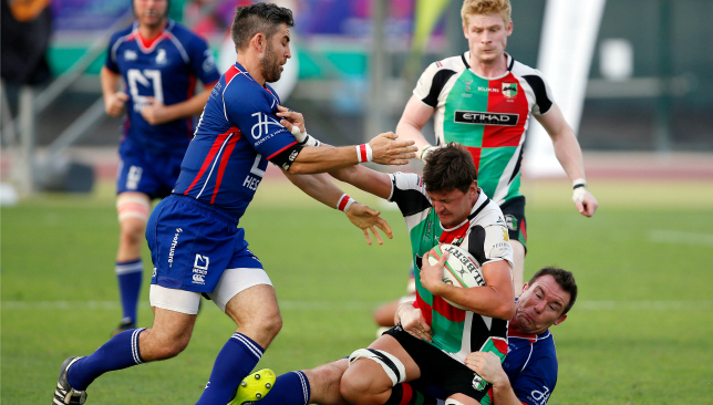 Both Quins and Dragons are fighting for the West Asia Premiership title.