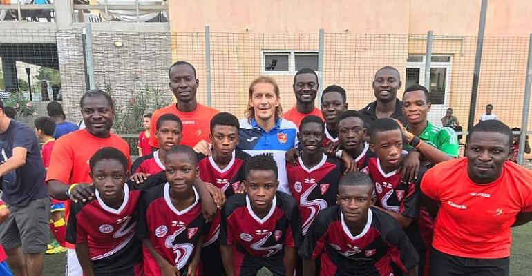 The Lizzy Sports Academy, owned by Ghanaian born, former French and international football legend, Marcel Desailly will represent Ghana at the Under 13 Dubai Intercontinental Cup Finals.