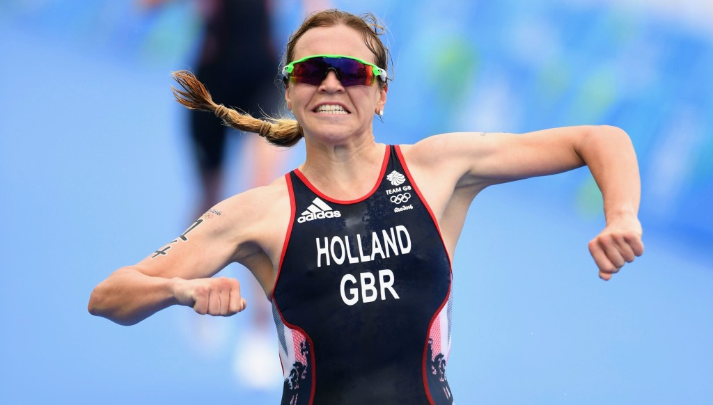 Vicky Holland won triathlon bronze for Britain in 2016.