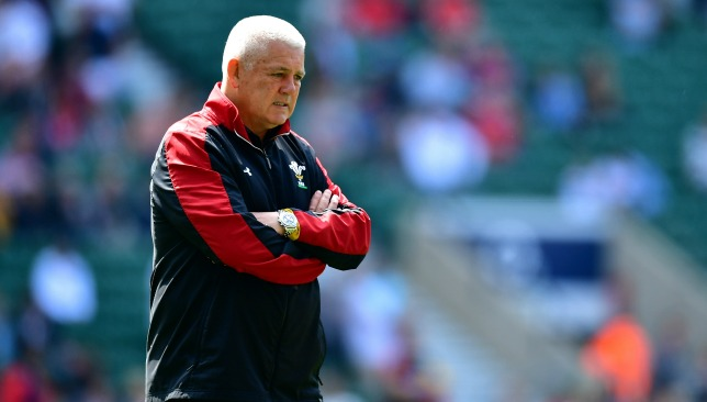 Gatland will leave Wales after this year's World Cup.