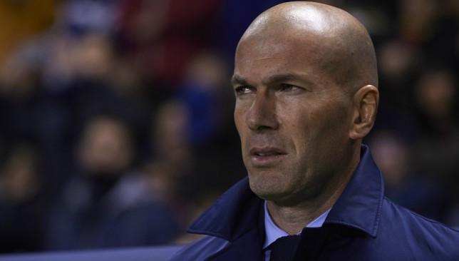 The pressure is building on Real boss Zinedine Zidane.