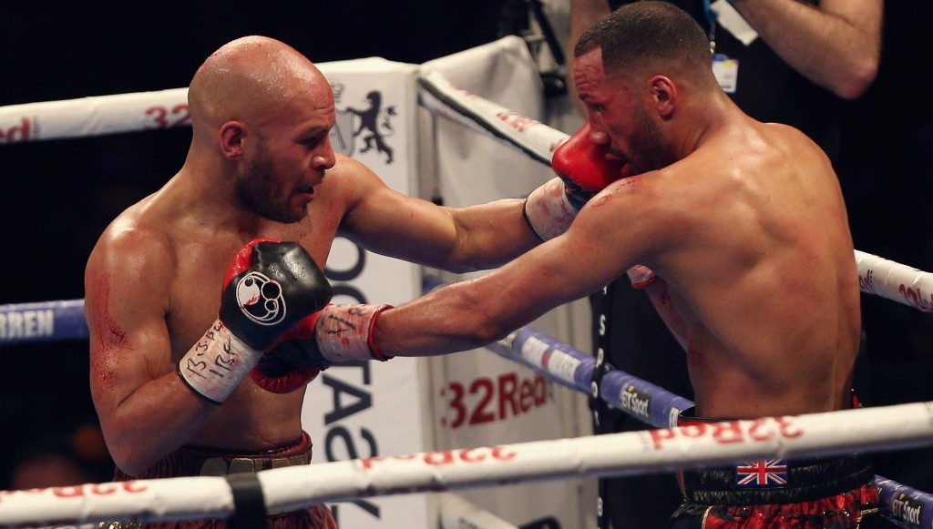 Shock defeat: James DeGale no longer holds a title