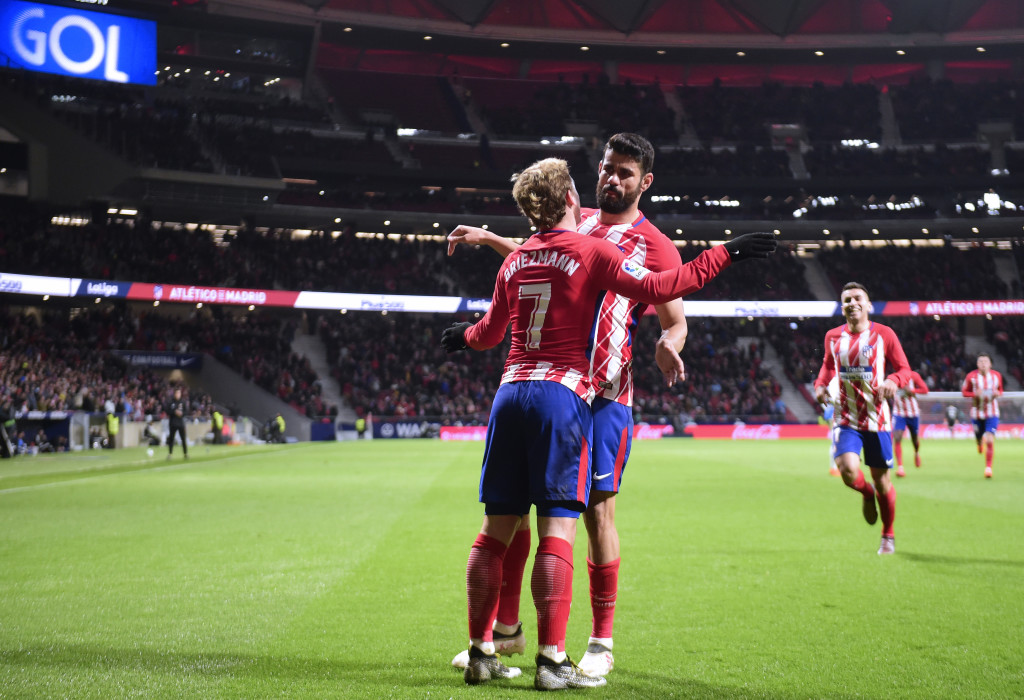 With Griezmann and Costa in sublime form, Atletico must believe they can win.