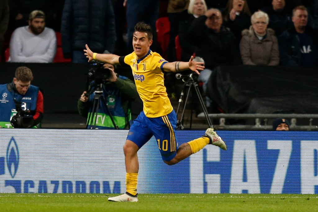 Dybala's goal sent Juve into the quarterfinals.