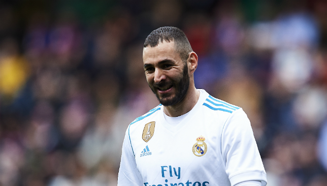 Benzema is under immense pressure after a poor season.