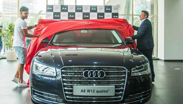 Another fine Audi for Kohli.