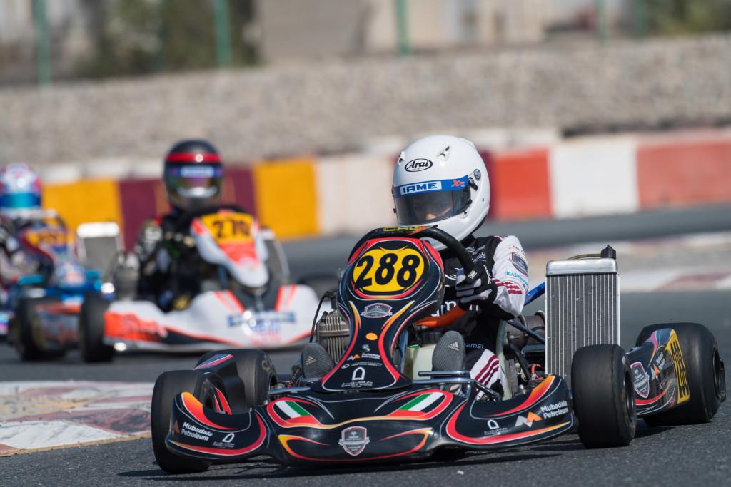 Ali Al Shamsi was equally impressive n the Junior class.