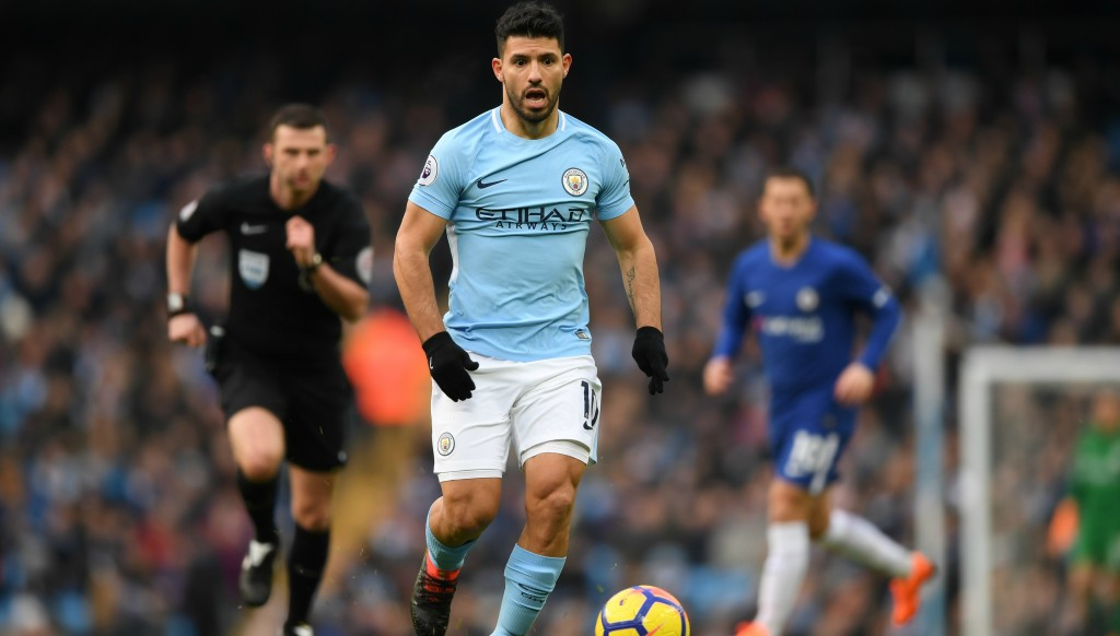 A City Serg: Aguero proved just as useful even though he didn't score.