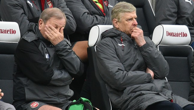 Brighton rock Wenger as pressure mounts on French boss