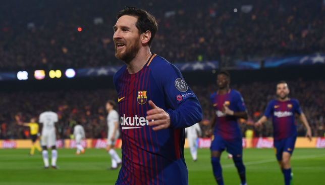 Plans undone: Lionel Messi strikes
