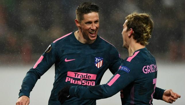 Atletico Madrid soar into Europa League quarters by thrashing Lokomotiv Moscow