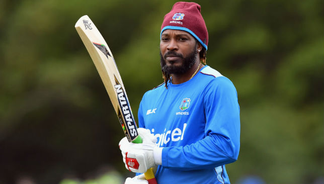 Chris Gayle of the West Indies
