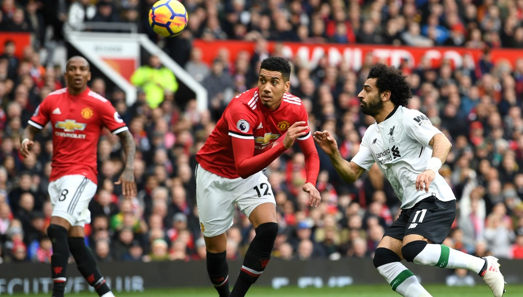 Chris Smalling was excellent in Saturday's 2-1 defeat of Liverpool.