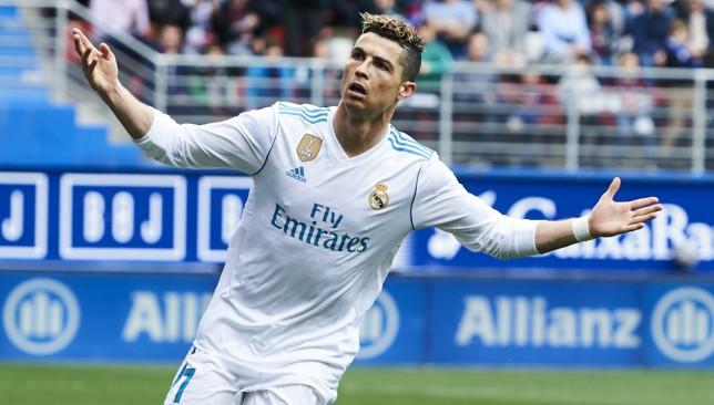 Cristiano Ronaldo brace edges Real Madrid to victory at Eibar