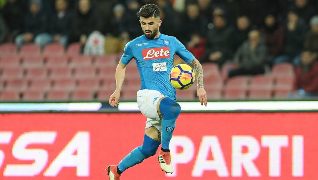 Elseid Hysaj could be reunited with former manager Maurizio Sarri.