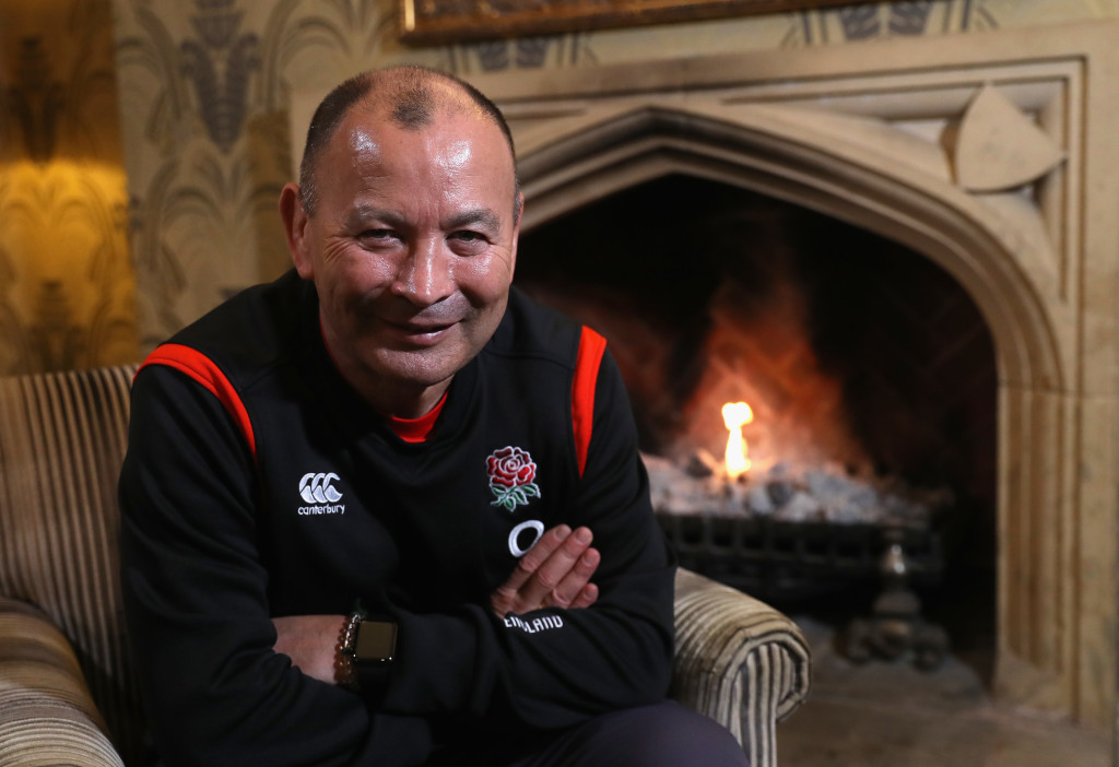 Eddie Jones, the England head coach, will be staying away from public transport.