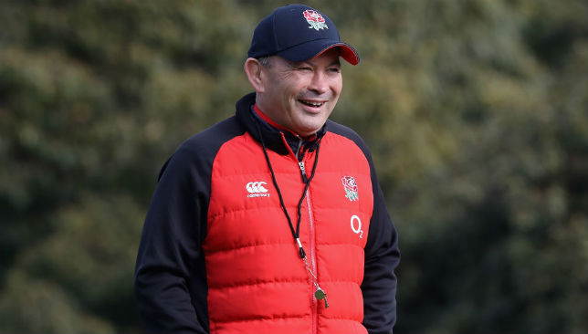 Eddie Jones, the England head coach,