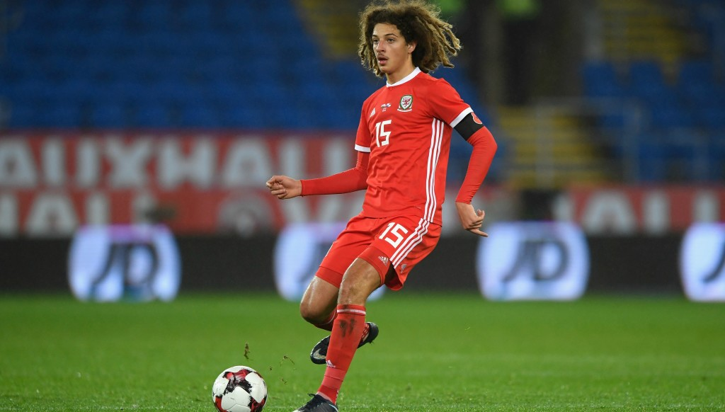 Chelsea teenager Ethan Ampadu is one of Wales' brightest young prospects.