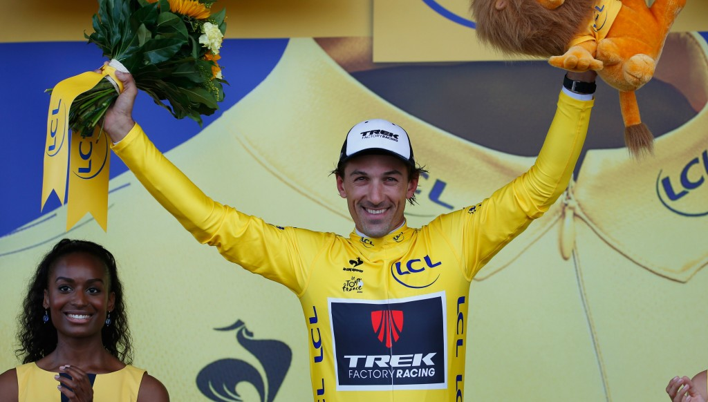 Cancellara won eight stages at the Tour de France.