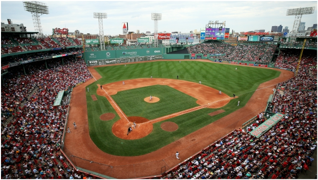 The Red Sox, rumoured to feature in London in 2019, play their home games at iconic Fenway Park.