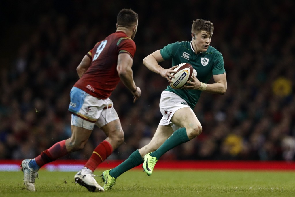 Garry Ringrose is back just in time for Ireland