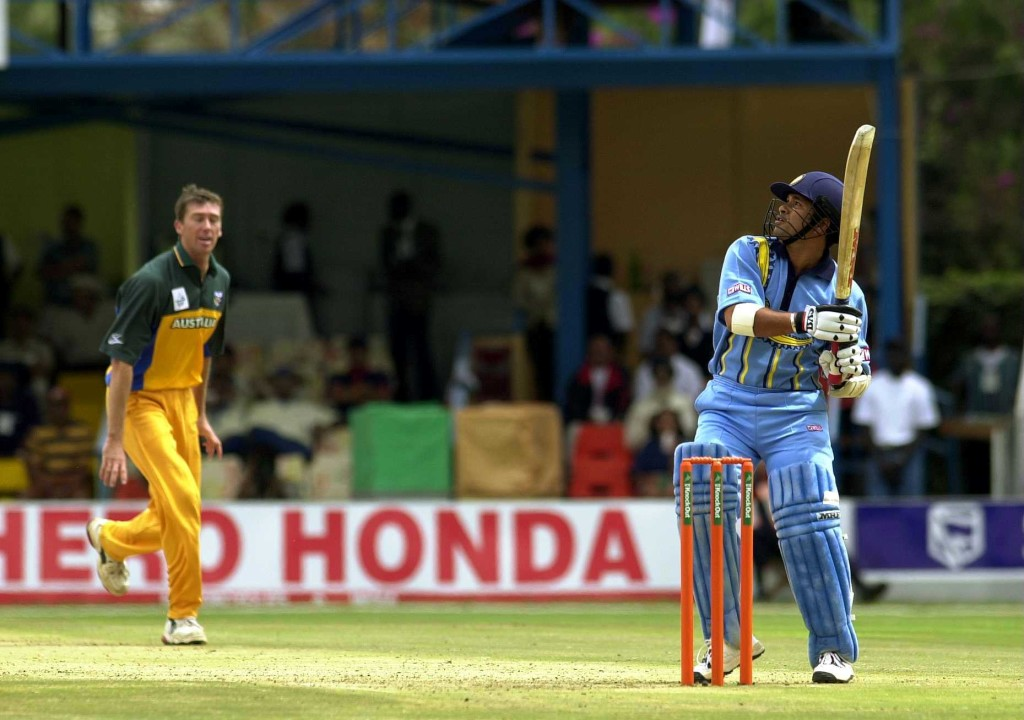 McGrath had some fascinating duels with Sachin at their peaks.