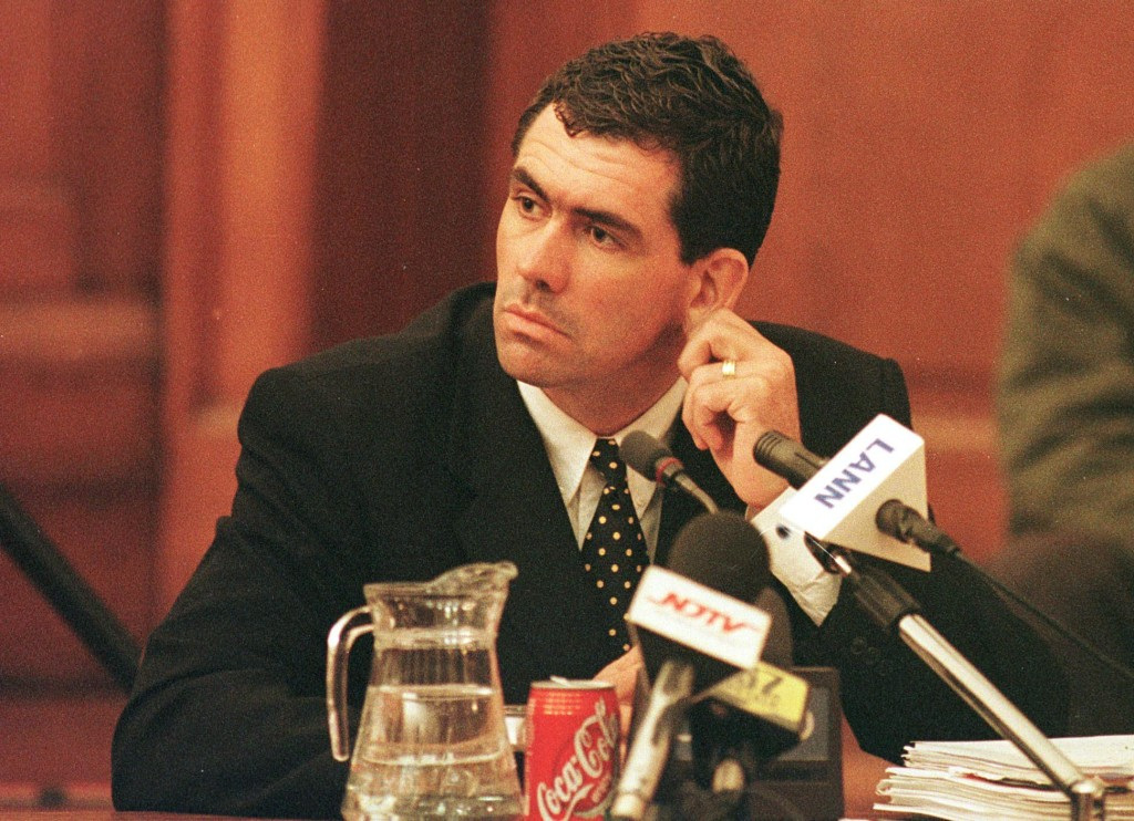 Cronje was handed a life-ban following the inquiry.