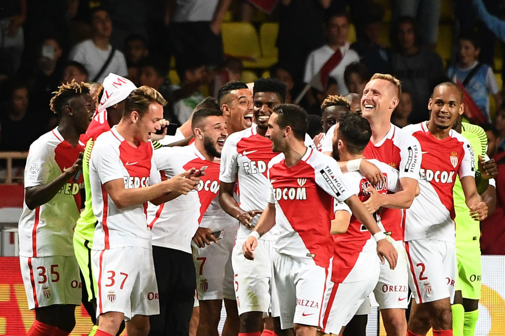 Monaco's won Ligue 1 last season