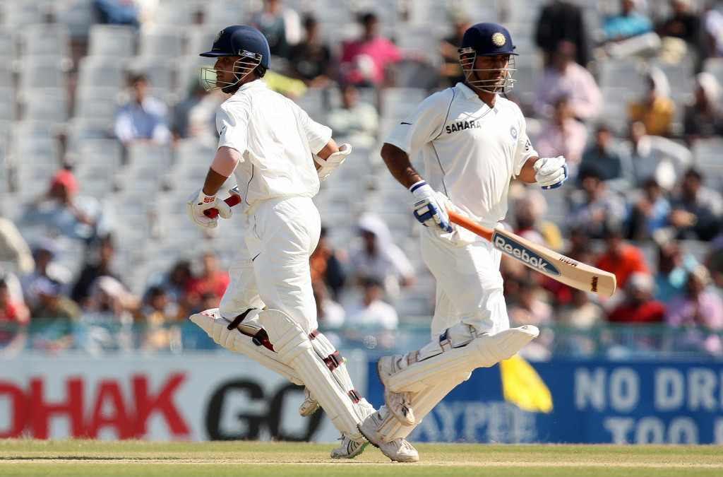 Ganguly had played his final Test under Dhoni's captaincy.