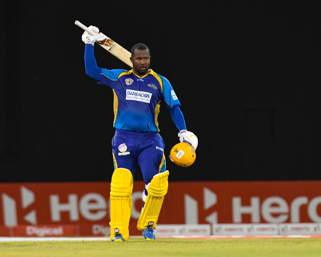 The Barbados man has made a career out of playing in T20 leagues.