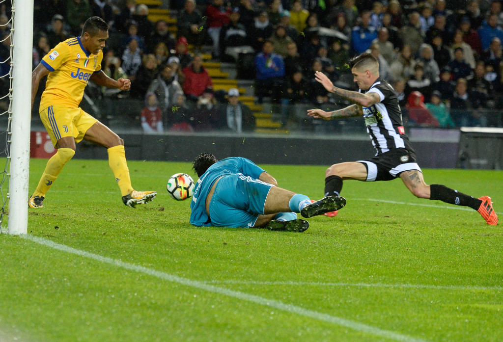 Even with 10-men, Juventus won 6-2 at Udinese in October.