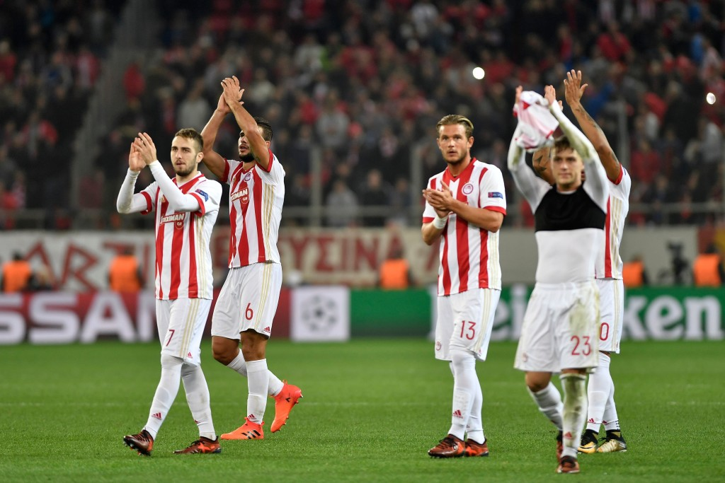 Olympiacos are hoping to catch AEK Athens.