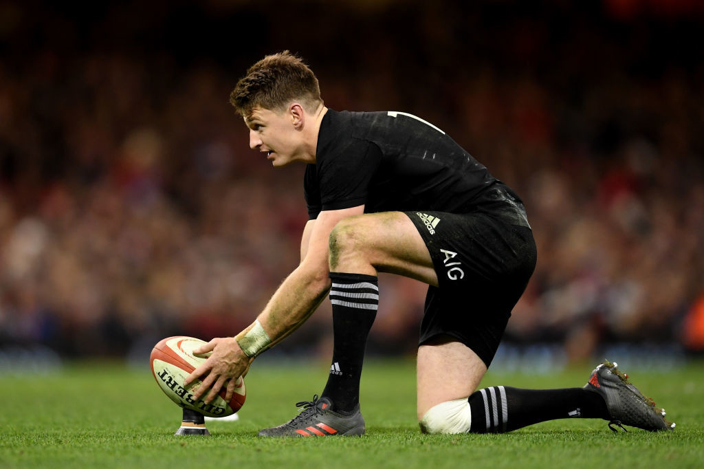 New Zealand star Beauden Barrett