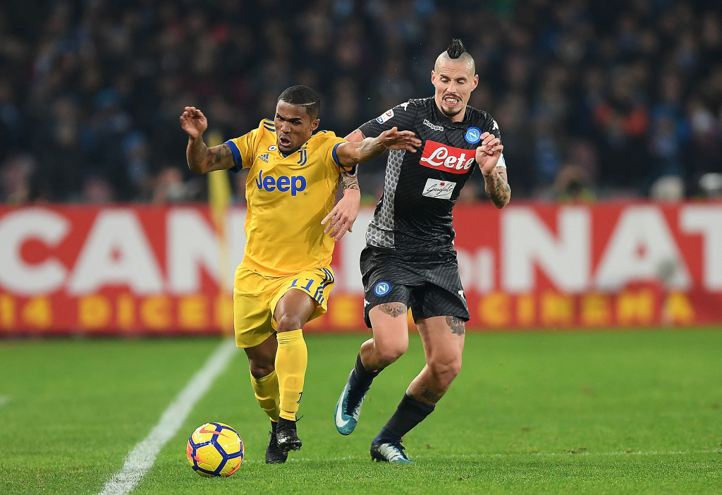 Napoli and Juventus are locked in a battle for Serie A.