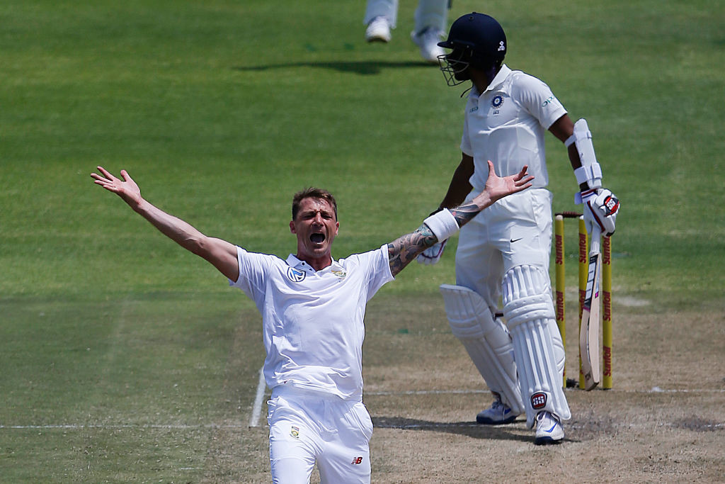 Steyn had broken down mid-way through the first Test against India.