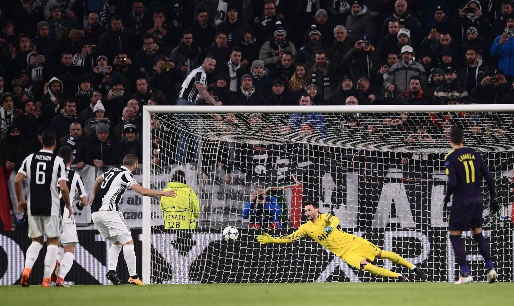 Tottenham had held the Italian champions to a 2-2 draw in the first leg.