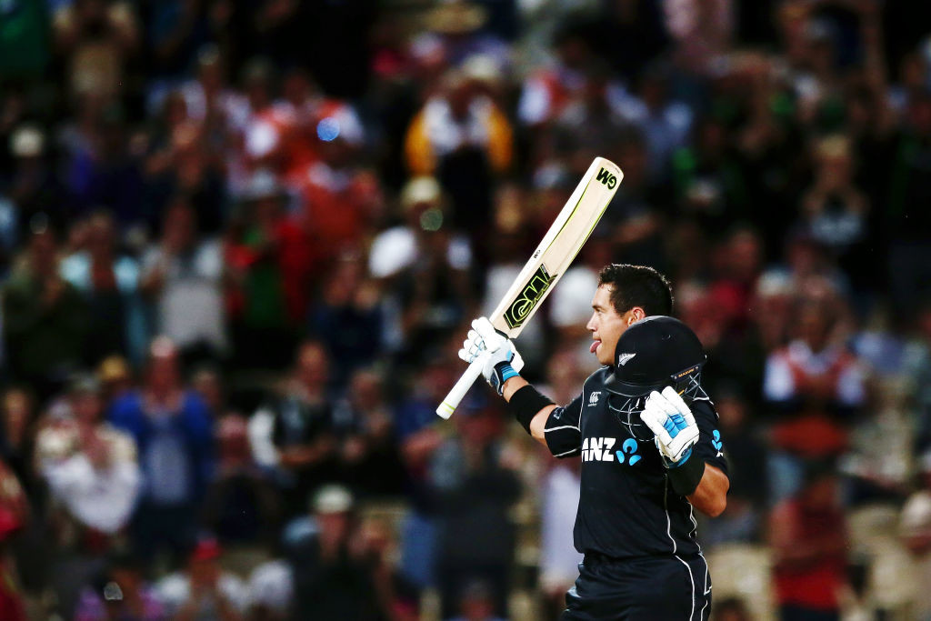 Taylor has been averaging over 60 in ODI cricket of late.