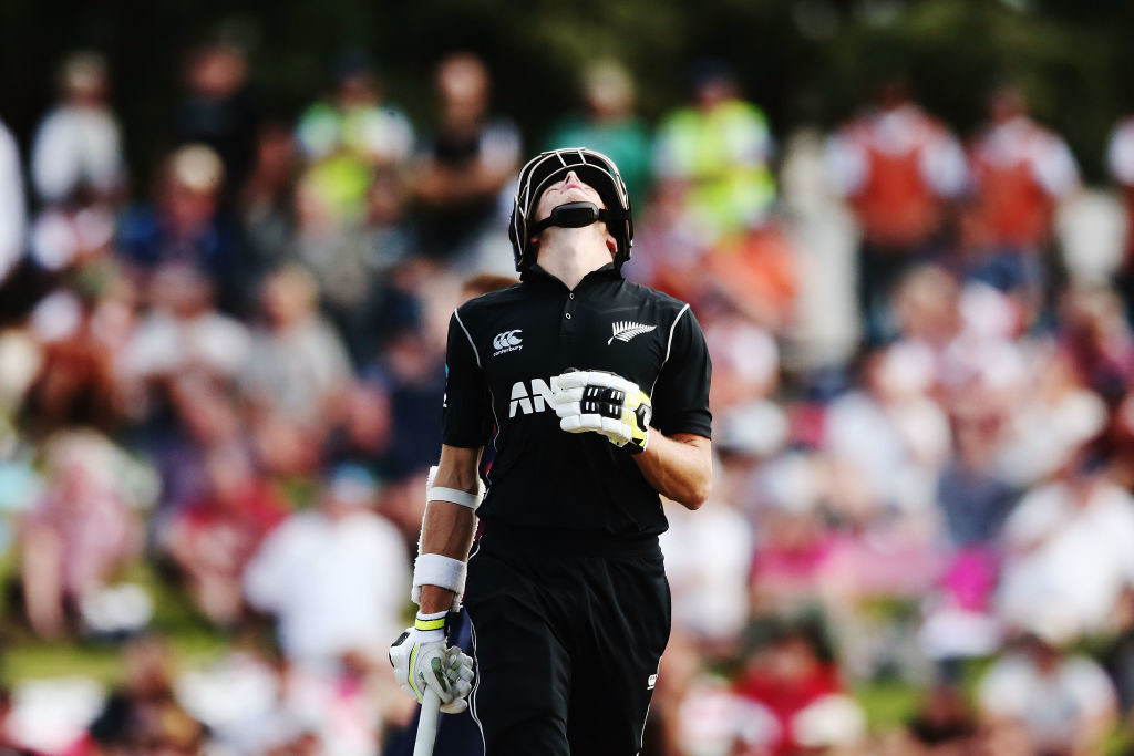 Santner was dismissed only for the first time in three innings.