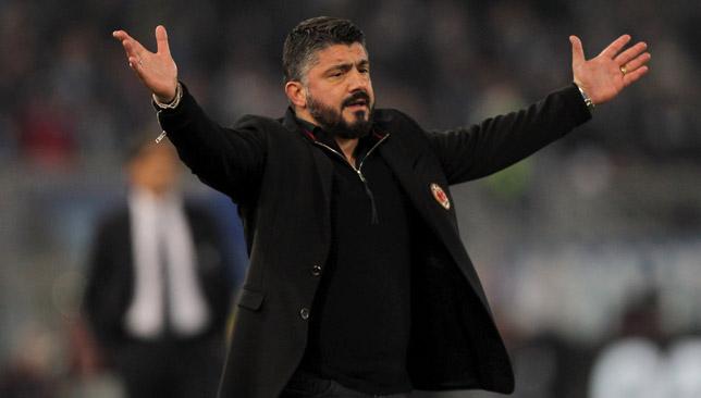 Man in charge: Gattuso