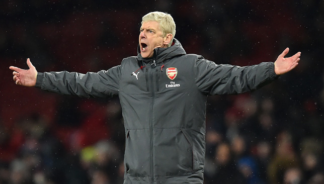 Under pressure: Arsene Wenger