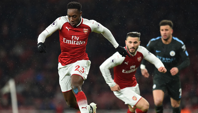 Back in action: Danny Welbeck