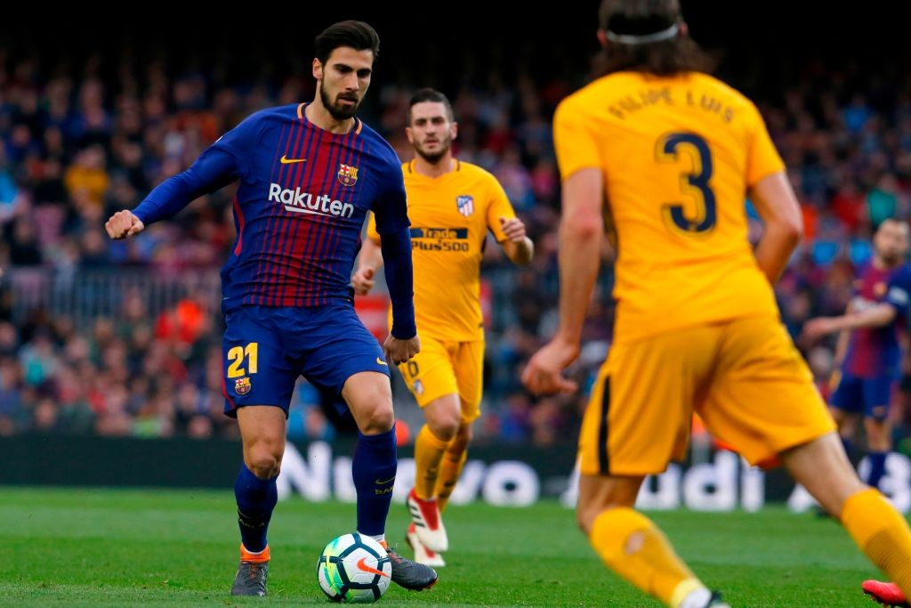 Gomes was jeered by the home fans in the Atletico Madrid clash.