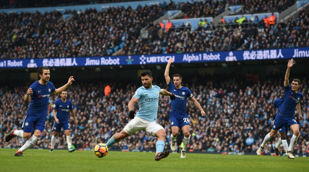 Aguero has failed to find the net in City's last two matches.